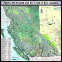 Where are all the Alpine Ski Resorts in BC?